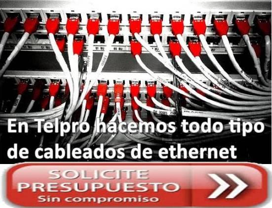 Telpro Madrid empresa instaladora y mantenedora de cableados ethernet